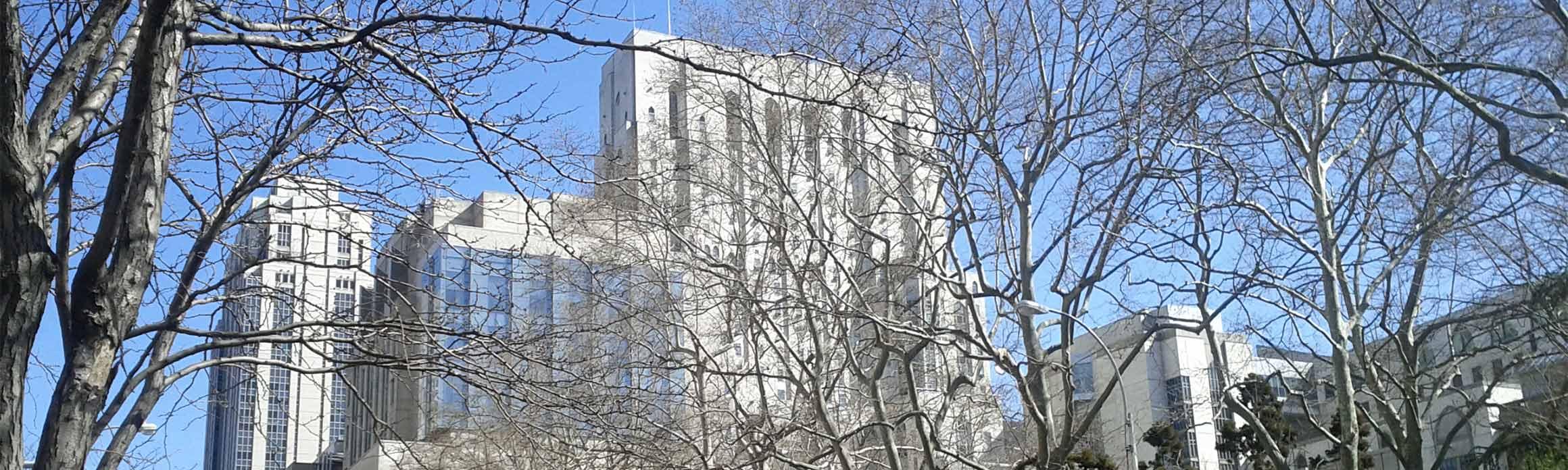 Exterior of CPO building.